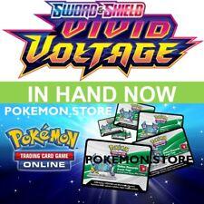 25 коды напряжения Vivid Pokemon TCG онлайн Sword Shield бустер ptcgo послал игровой