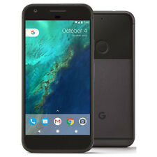 "Google Pixel XL 5.5"" Android 7.1 32GB Quite Black Unlocked Smartphone XK"