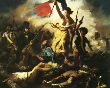 Liberty Leading The People - GICLEE ART PRINT 12 x 15 Many Sizes