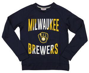 Outerstuff MLB Youth/Kids Boys Milwaukee Brewers Performance Fleece Sweatshirt