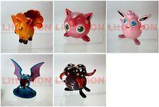 B#037] 5x Pokemon Figures 4-5cm: Vulpix Jigglypuff Wigglytuff Golbat Gloom