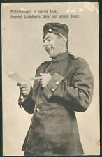 Preußen, Feld-Postkarte Rarzeburg Res.-Jäger-Bat. N°18 in grün 1914, selten