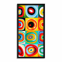 """/""""Farbstudie Quadrate/"""" ver Größen WANDKINGS Leinwandbild Wassily Kandinsky"""
