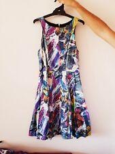 Cooper St Colourful Skater Dress Size 6