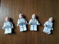 Lego minifigure  Star Wars troopers x 4 ....  lot 3