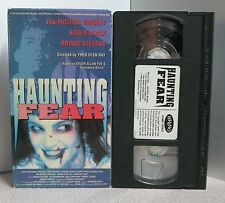 HAUNTING FEAR VHS Jan MichaeI Vincent 1990 Erotic Horror Edgar Allan Poe