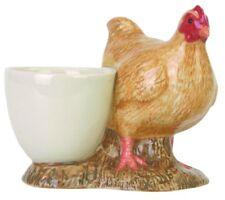Quail Ceramics - Buff Orpington Hen with Eggcup