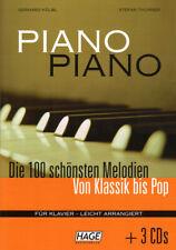 Piano Piano 1 mit CDs sehr leicht bis leicht Klavier Songbook Noten Hage Verlag