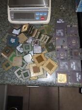 10.63 lbs Scrap Gold For Recovery -CPU's, Ram, Misc scrap/pins, fingers.