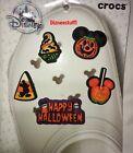 2021 Disney Parks Halloween Crocs Jibbitz Shoe Charms Set Mickey Pumpkin Candy