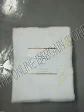 Pottery Barn Casual Floral Embroidered Bed Duvet Cover Full Queen F/Q IVORY new