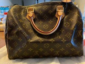 Louis Vuitton Speedy 30 Monogram Handbag barely used