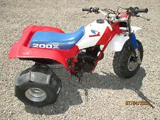 1985 honda 200x atc 3 wheeler