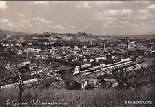 # S. GIOVANNO VALDARNO: PANORAMA (stazione ferroviaria) - 1958