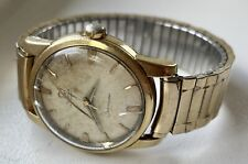 Vintage OMEGA SEAMASTER Automatic Gold & Steel Wristwatch - Runs - NR