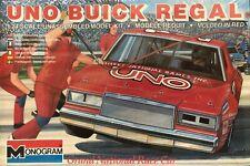 Monogram 2205 1/24 Scale Uno Grand National Buick Regal Plastic Model Car Kit