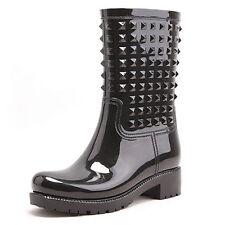 Women's Textured Mid-Calf Boots