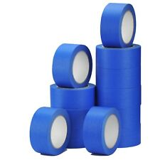 4 Rolls-UV-Resistant-Blue-Painters-Clean-Peel-Masking Tape 50mm x 50m