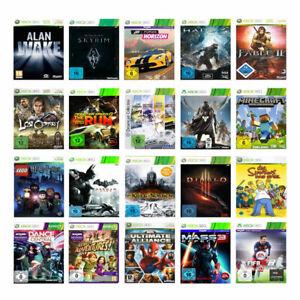 Die besten Microsoft Xbox 360 Spiele (mit OVP) (gebraucht)