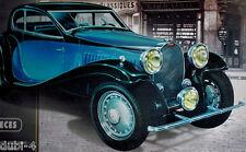Heller 50706 Bugatti T 50 incl. Pincel - Pegamento - Color ( 80706 ) 1:24