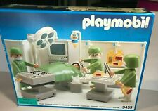 VINTAGE TOY 1992 PLAYMOBIL #3459 HOSPITAL SURGERY OPERATING ROOM SET COMPLETE!