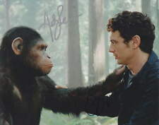 Rise Of The Planet Of The Apes. James Franco and Andy Serkis - Signed