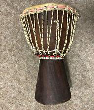 More details for vintage african djembe drum, 41cm tall, 26cm diameter, uk seller, free p&p