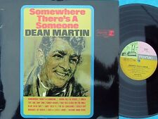 Dean Martin ORIG OZ LP Somewhere there's a EX '66 Reprise RS6201 Vocal Pop