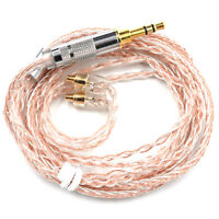 Professional KZ Copper and Silver Hybrid Plating Upgrade Line Earphone Cable New