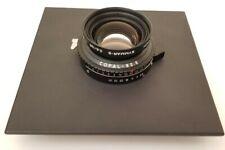 Schneider Kreuznach Symmar-S 135mm f/5.6 Copal No. 0 Shutter Sinar F1 Lens Board
