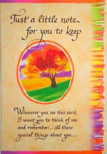 Blue Mountain Arts Sentimental Card: Someone Special -Just A Little Note For You