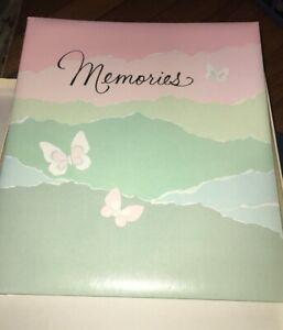 *BRAND NEW* Vintage 1982 Hallmark Memory Book Keepsake Album BUTTERFLIES