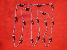 Vintage Russian Latvian Ceramic Beads Necklace.
