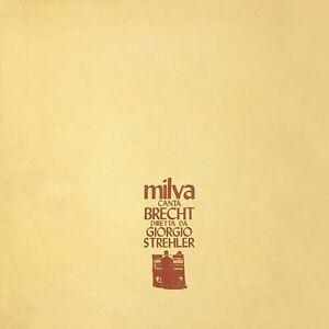 Milva Canta Brecht Diretto da Giorgio Strehler CD Nuovo Sigillato N