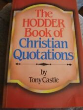 Book of Christian Quotations-Tony Castle
