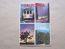 California, Cable Cars, Red Woods, Joshua Tree-Orange Groves, USA, Postcard 1988