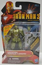 "Weapons Assault Drone Action Figure #16 Iron Man 2 Comic 4"" Hasbro NIP"