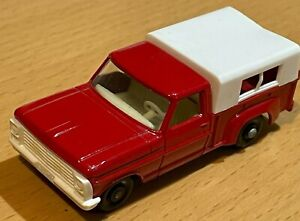 Vintage Matchbox Lesney No 6 Red Ford Pickup Truck - Very Near Mint