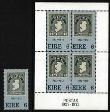 IRELAND 1972 Anniversary of First Irish Stamp - MNH - Cat £4.35 - (138)
