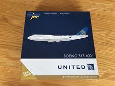 UNITED Airlines Boeing 747-400 Large Diecast Model Gemini 1:400 GJUAL1741 USA