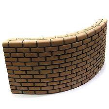 "Ceramic Aquarium Decoration Shelter Barrier ""Brick Wall"" SAGA - Extra Large"