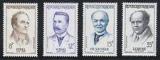 France 1958 MNH Mi 1178-1181 Sc 865-868 French Physicians,medics **