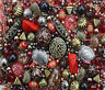 Large Pack of mixed Red Jewellery Making Beads - 80g