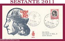 ITALIA FDC VENETIA 369 - 4 GIAMBELLINO 1974 ANNULLO VENEZIA G556
