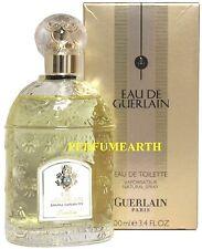 Eau De Guerlain By Guerlain 3.3/3.4oz. Edt Spray For Men New In Box