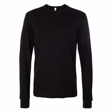 New Men's Gem Rock Black Long Sleeve Crew Neck T-Shirt Size 2X-Large Brand New!