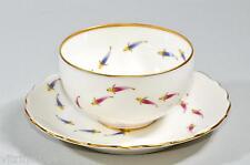 Set 5 japanischetee-Gusci + SOTTO TAZZA Tea Cup Saucer, pesci, uccelli, Erebiachristi > DECORO