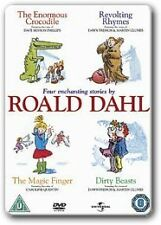 Roald Dahl Collection DVD, dirty beasts/magic finger/the enormous crocodile/