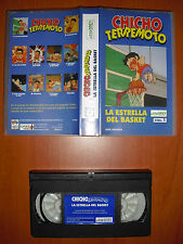 Chicho Terremoto Vol.1 La estrella del basket [Anime VHS] DIVEX Edición Española