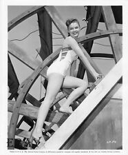 Luana Patte leggy barefoot VINTAGE Photo circa 1956